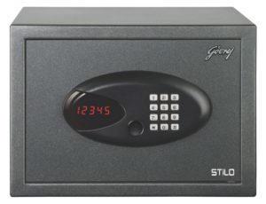 Godrej New Stilo Electronic Safe (Black)