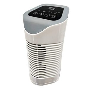 American Micronic-AMI-AP1-22Dx-22 Watts HEPA Air Purifier (White with Gray)