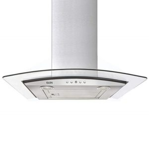 GLEN Cooker hood 6071EX 60cm 1000m3 SSLTW Wall Mounted Chimney
