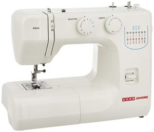 Usha Janome Allure Automatic Zig-Zag Electric Sewing Machine