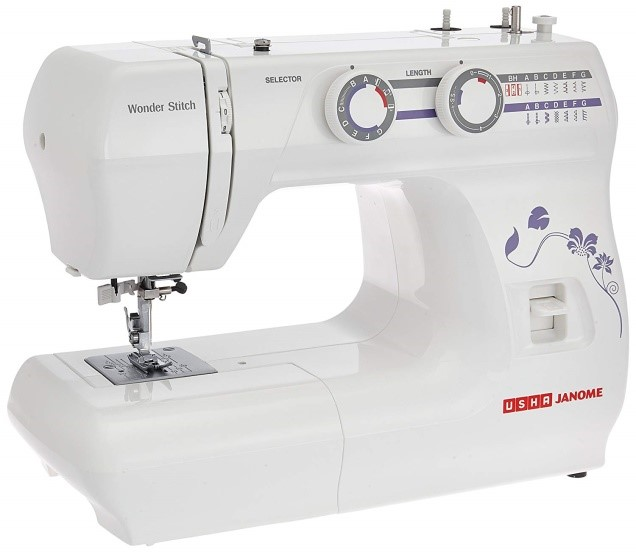 Home Electric Small Household Appliances Start 6-Stitch Sewing Machine white