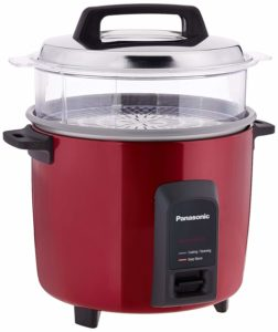 Panasonic SR-Y22FHS 750-Watt Automatic Electric Cooker with Non-stick Cooking Pan