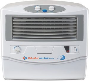 Bajaj MD2020 54 Ltrs Room Air Cooler (White) - for Medium Room