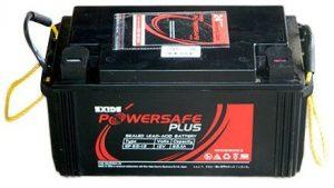Exide 12V 26AH PowerSafe Sealed UPS Solar Battery (Black)