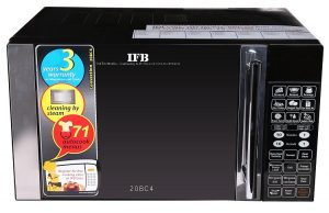 IFB 20BC4 20-Litre 1200-Watt Convection Microwave Oven (Black)