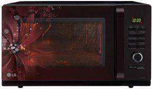 LG 32 L Convection Microwave Oven (MC3286BRUM, Black)