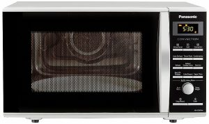 Panasonic 27 L Convection Microwave Oven (NN-CD674MFDG, Silver)