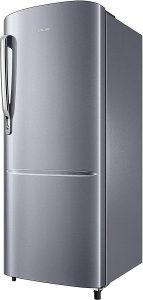 Samsung 212 L 3 Star Direct Cool Single Door Refrigerator(RR22M272ZS8, Elegant Inox, Inverter Compressor)
