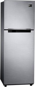 Samsung 253 L 2 Star Frost Free Double Door Refrigerator(RT28M3022S8, Elegant Inox, Inverter Compressor)