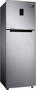 Samsung 345 L Frost Free Double Door 3 Star Refrigerator (Elegant Inox, RT37M5518S8HL)