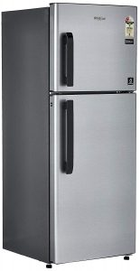 Whirlpool 245 L 2 Star Frost Free Double Door Refrigerator(Neo FR258 CLS Plus, Galaxy Steel)