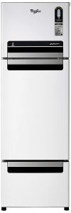 Whirlpool 260 L Frost Free Triple Door Refrigerator (Mirror White, FP283D PROTTON ROY)
