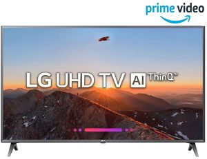 LG 108 cm (43 Inches) 4K UHD TV 43UK6360PTE