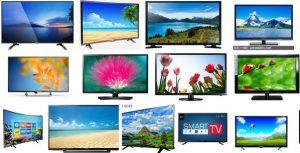 Types of LED TVs