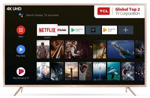 TCL 138.71 cm (55 Inches) 4K UHD LED Smart Certified Android TV L55P2MUS