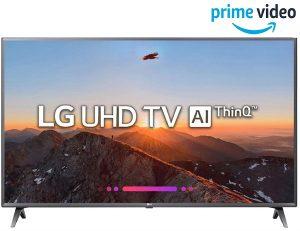 LG 108 cm (43 Inches) 4K UHD LED Smart TV 43UK6360PTE