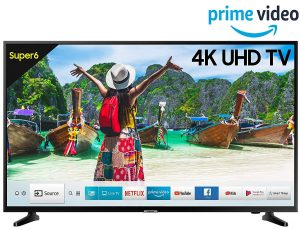 Samsung 108 cm (43 Inches) 4K UHD LED Smart TV UA43NU6100