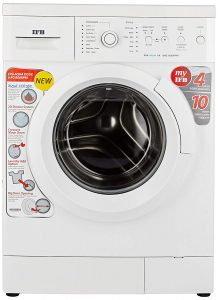 IFB 6 kg 2D Wash Fully Automatic Front Load Washing Machine with In-built Heater White (Diva Aqua VX)
