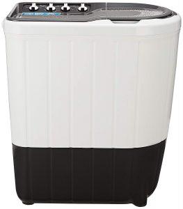 Whirlpool 7 kg Semi Automatic Top Load Washing Machine Red, White