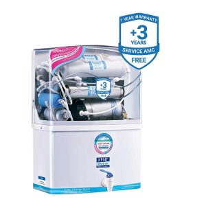 KENT Grand 8-Litres Wall-Mountable RO + UV/UF + TDS Controller 15 ltr/hr Water Purifier