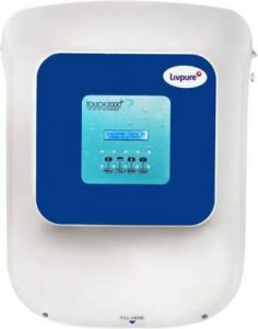 Livepure Touch 2000 Plus RO+UV+UF Water Purifier with Pre Filter