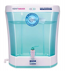 KENT Maxx 7-Litres Wall Mountable/Table Top UV + UF 60-Ltr/hr Water Purifier with detachable storage tank