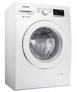 Samsung 6 kg Inverter Fully Automatic Front Load Washing Machine with In-built Heater White