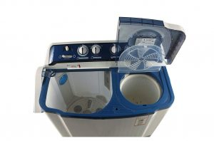 LG 8 kg Semi-Automatic Top Load Washing Machine Blue
