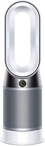 Dyson Pure Hot+Cool Air Purifier (Advanced Technology) with heater and bladeless fan, HP04 (White/Silver)