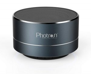 Photron P10 Wireless 3W Super Bass Mini Metal Aluminium Alloy Portable Bluetooth Speaker with Mic