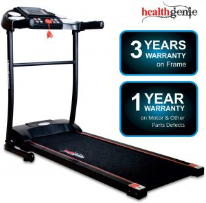 Healthgenie 3911M 2.5 HP Peak Motorized Treadmill for Home Use & Fitness Enthusiast