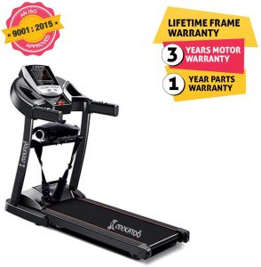 Cockatoo CTM-04 Home Use 2 HP Motorised Multi-Function Treadmill