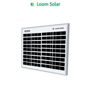 Loom Solar 10 Watt, 12 Volt Solar Panel-Poly Crystalline