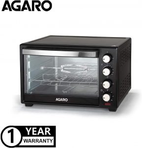 Agaro Marvel Series 48 Litre Oven Toaster Griller with Rotisserie