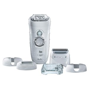 Braun Silk-Epil 7 7-561 Wet and Dry Epilator Epilator with 8 Extras
