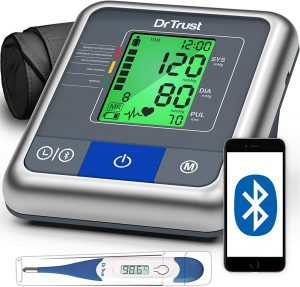 Dr Trust A-One Max Connect Automatic Talking Blood Pressure Testing Monitor