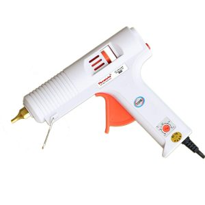 Themisto - Built With Passion 150W Multi Temperature High Power Hot Melt Glue Gun With Sticks