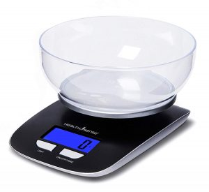 Health Sense Healthsense Chef-Mate Digital Kitchen Scale
