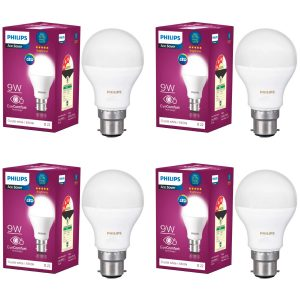 Philips Base B22 9-Watt LED Bulb