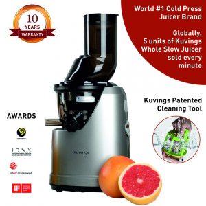 Kuvings Professional 240 Watt Cold Press Whole Slow Juicer