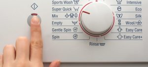 how to use a washing machine settings