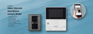 Panasonic Plastic Video Intercom System with Smartphone Connect