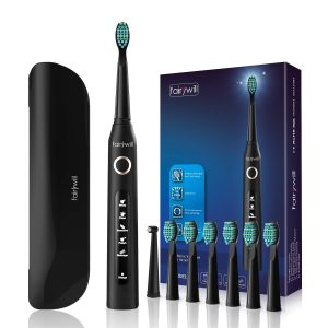 Fairywill Electric Toothbrush Cleaning as Dentist Rechargeable Sonic Toothbrush
