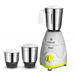 Singer Pearl 500-Watt Mixer Grinder With 3 Jars