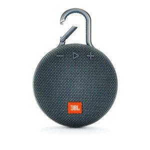 JBL Clip 3 by Harman Ultra-Portable Wireless Bluetooth Speaker with Mic (Blue)