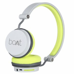BoAt Super Bass Rockerz 400 Bluetooth On-Ear Headphones with Mic