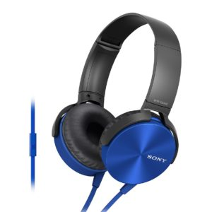 Sony MDR-XB450AP Wired Extra Bass On-Ear Headphones