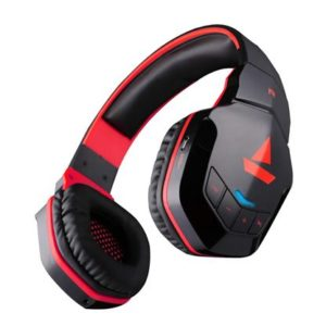 boAt Rockerz 510 Over-Ear Headphones with 20 Hours Battery, 50mm Drivers, Easy Tap Controls, Powerful Bass(Raging Red)