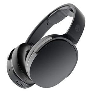 Skullcandy Hesh Evo Wireless Over-Ear Headphone with Up to 36 Hours of Battery, Rapid Charge (10 min = 3 hrs), Noise-Isolating Fit and Built-in Tile Finding Technology (Black)