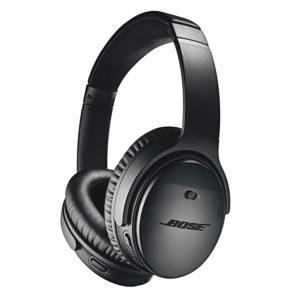 Bose QuietComfort 35 II Wireless Bluetooth Headphones, Noise-Cancelling, with Alexa voice control – Black